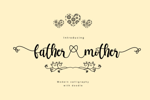 Father Mother  Font