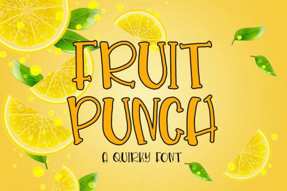 Fruit Punch Font