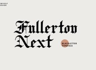 Fullerton Next Font