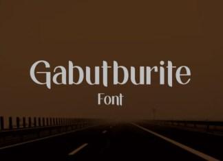 Gabutburit Font
