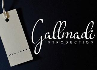 Gallmadi  Font
