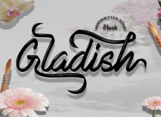 Gladish Font