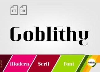 Goblithy Font