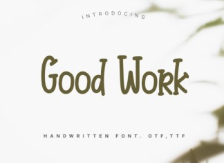 Good Work Font