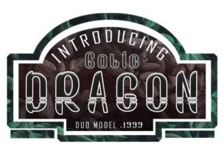 Gotic Dragon Font