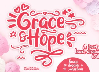 Grace & Hope  Font