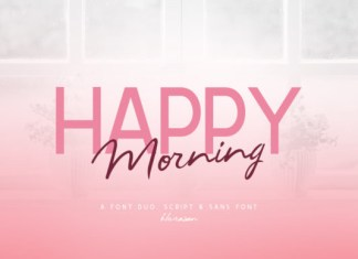 Happy Morning Font