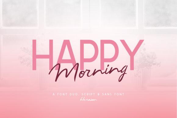 Happy Morning Font