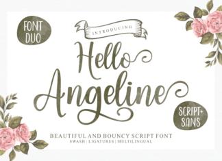 Hello Angeline Font