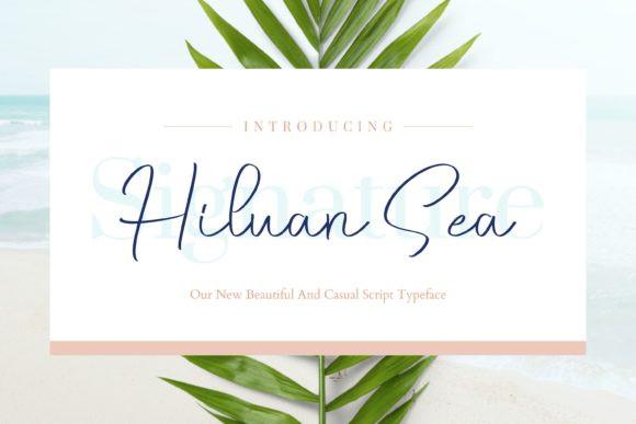 Hiluan Sea Font