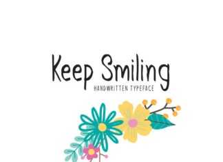 Keep Smiling Font