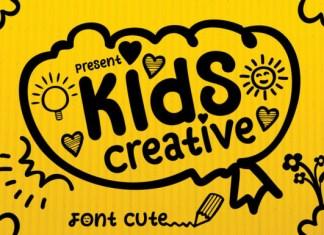 Kids Creative Font