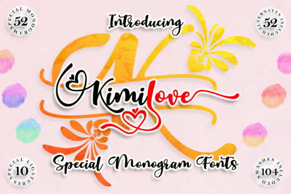 Kimilove Font