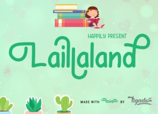 Laillaland Font