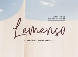 Lemenso Font