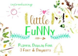 Little Funny Font