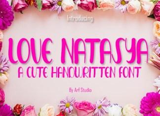 Love Natasya Font