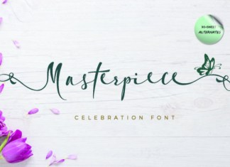 Masterpiece Font