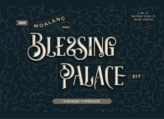 Moalang Pro Font