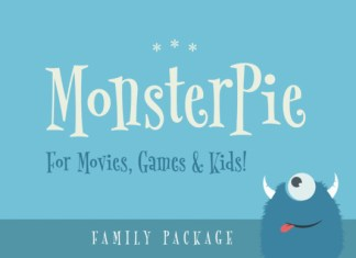 Monster Pie  Font
