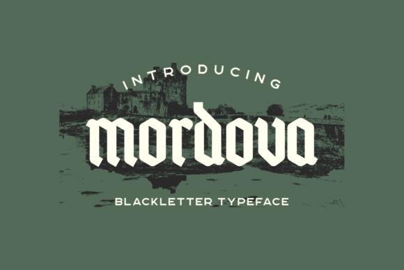 Mordova  Font