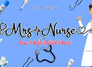 Mrs Nurse Font