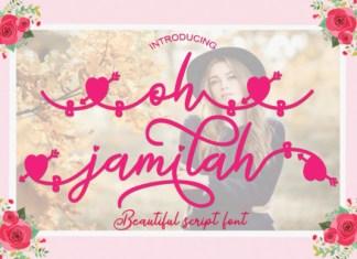 Oh Jamilah Font