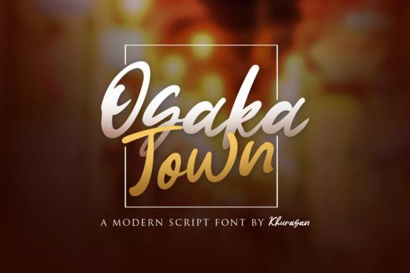 Osaka Town Font