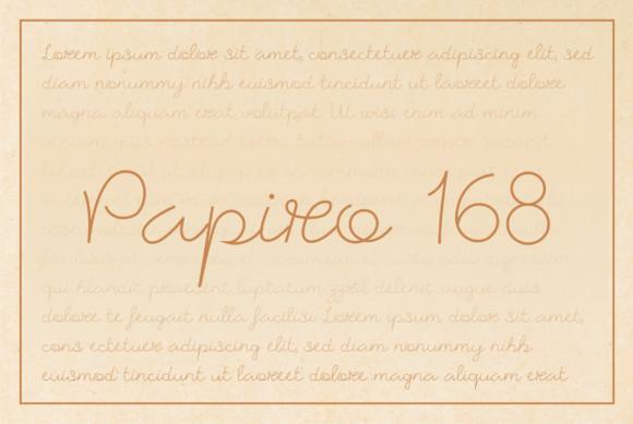 Papiro 168 Font