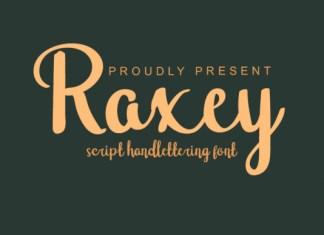 Raxey Font