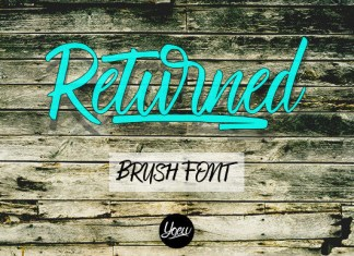 Returned Font
