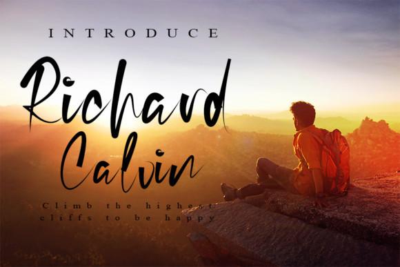 Richard Calvin Font