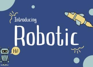 Robotic Font