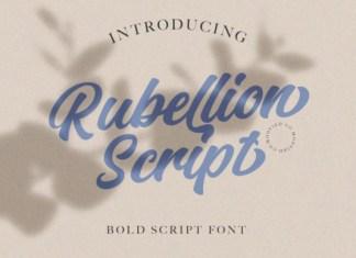 Rubelion Script Font