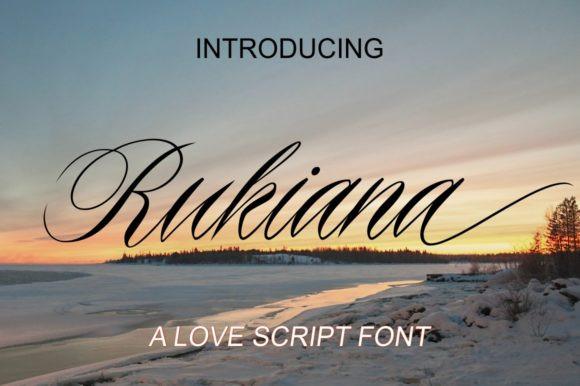 Rukiana Font