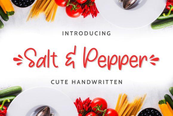 Salt & Pepper Font