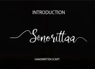 Senorittaa  Font