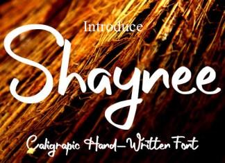 Shaynee Font
