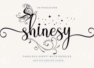 Shinesy Font