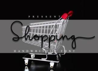 Shopping Font