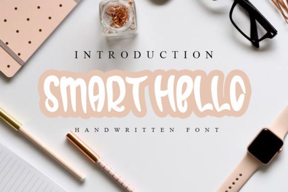 Smart Hello  Font