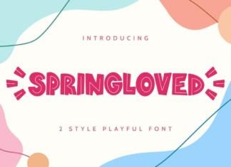 Springloved  Font