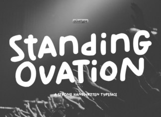 Standing Ovation Font
