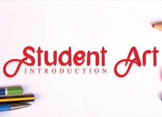 Student Art Font