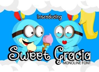 Sweet Gracia Font