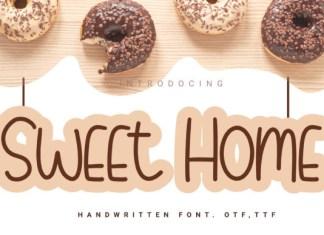 Sweet Home  Font