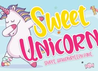 Sweet Unicorn  Font