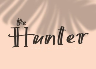 The Hunter Font