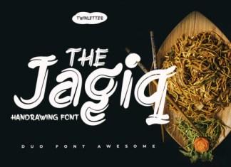 The Jagiq  Font