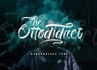 The Ottodidact  Font